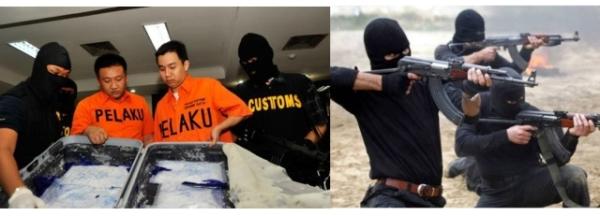 Perdagangan korupsi, narkoba, dan terorisme selalu berusaha melakukan kejahatan pencucian uang.