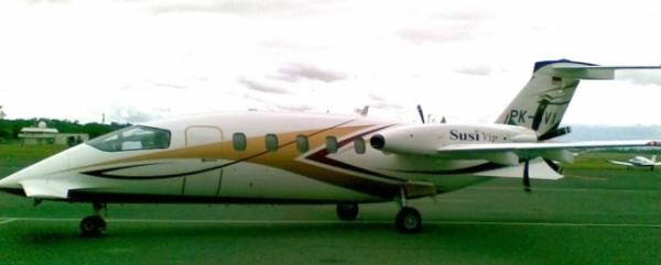 Salah satu pesawat Susi Air.