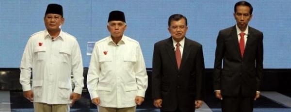Siapapun presiden - wakil presiden terpilih harus didukung oleh segenap rakyat RI.