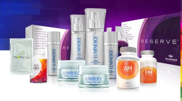Sejumlah produk Jeunesse Global yang dinikmati di berbagai negara termasuk Indonesia.