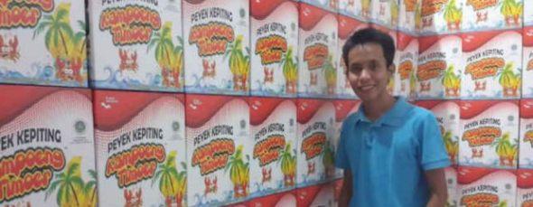 Filsa Budi Ambia, berjaya dengan kepiting Kalimantan Timur. (Foto: Detik Finance)
