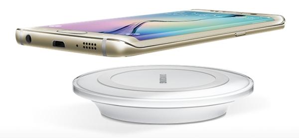 Samsung wireless charging, tak perlu kabel.