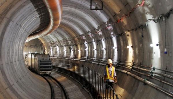 Jalur MRT Jakarta, mega proyek transportasi modern. (Gambar: metro.tempo.co)